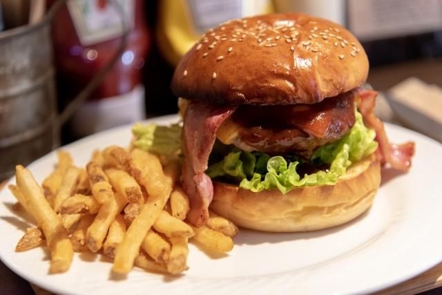 外国人にすすめたいハンバーガーの写真