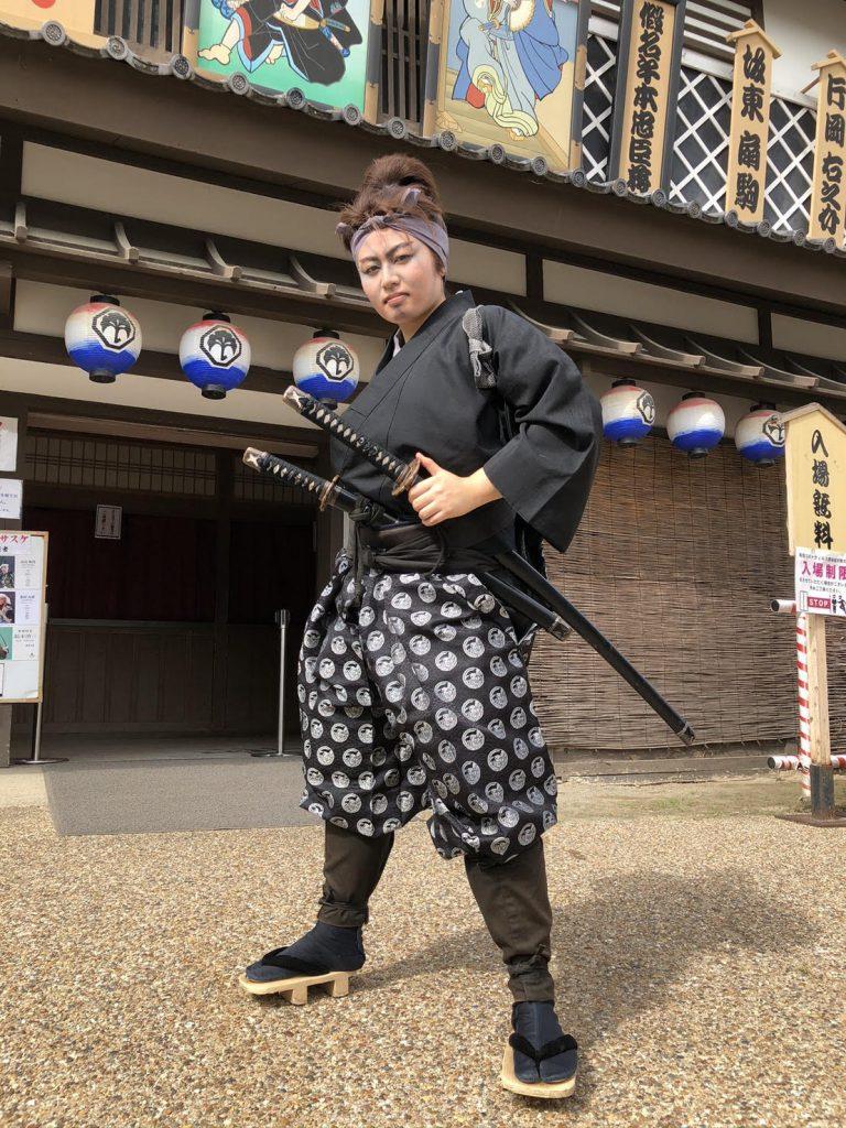歌舞伎研修講師2